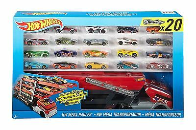 Hot Wheels City Mega Hauler with 20 Die Cast Cars/Vehicles Playset Set Boys Toy