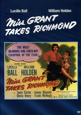 Miss Grant Takes Richmond [New DVD] Manufactured On Demand, Black & White