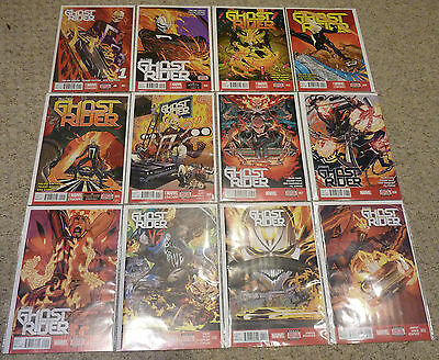 All New Ghost Rider #1-12 | Complete Marvel NOW! Series | NM