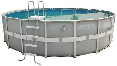 Intex 16ft diameter x 48in deep Ultra Frame Swimming Pool with 1,500gal filter ,