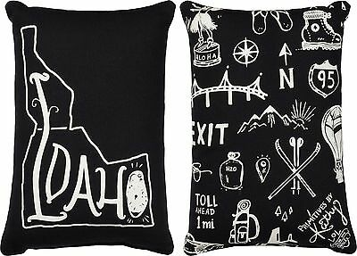 IDAHO Primitives by Kathy Double-Sided State Series Pillow