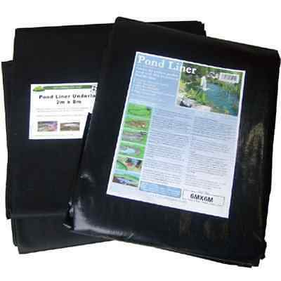 Pond Liner 10x8m with 40yr guarantee and FREE Underlay