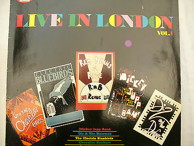 LIVE IN LONDON vol 1 red beans / mickey jupp etc