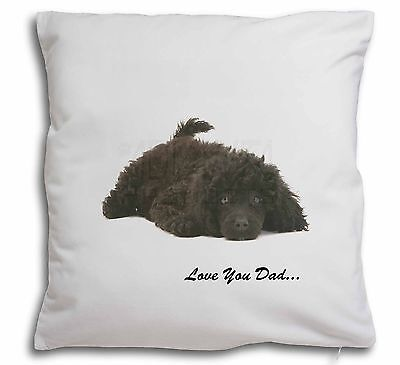 Apricot Poodle Soft Velvet Feel Cushion Cover With Inner Pillow AD-CP7-CPW