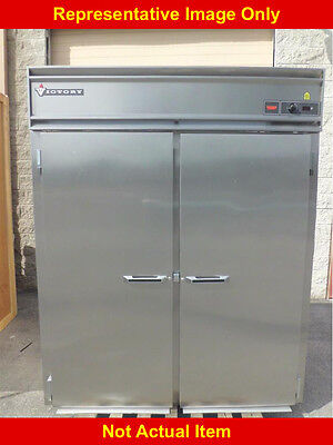 Victory Heated Cabinet, Roll-Thru, Stainless Steel