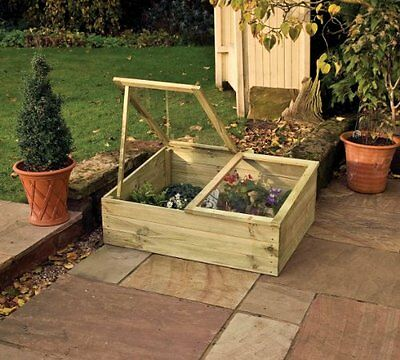 Timber Coldframe from Buttercup Farm