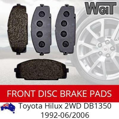 Front Disc Brake Pads Suit Toyota Hilux 2WD DB1350 1992-06/2006