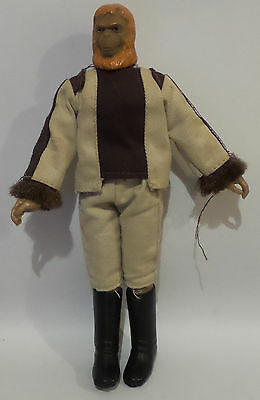 Planet Of The Apes : Doctorr Zaius Action Figure Made By Mego In 1974 (Sk)