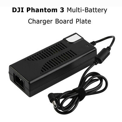 DJI Phantom 3 Multi-Battery Charger Board Plate 120W fast Charger Panel Black