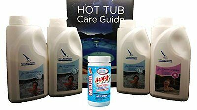 C Super Hot Tub Chemical Kit All 1KG Containers Starter Swimming Pool Store SPA