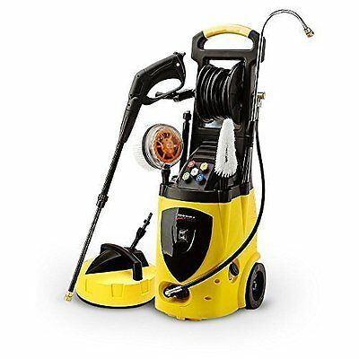 WILKS-USA High Pressure Washer 3800 PSI/262 BAR Electric Water Patio Cleaner
