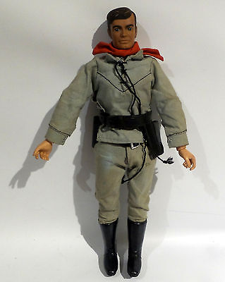 The Lone Ranger : Lone Ranger Action Figure Made By Gabriel In 1973 (Sk)
