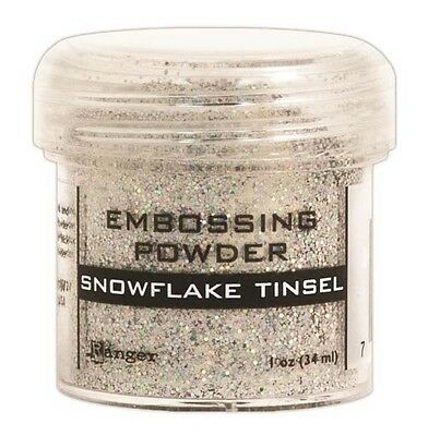 Ranger Ink Specialty 1 Embossing Powder  Snowflake Tinsel
