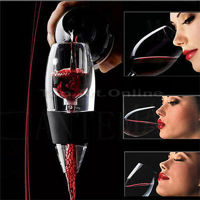 Mini Red Wine Aerator Filter Magic Decanter Essential Wine Quick Aerator Set