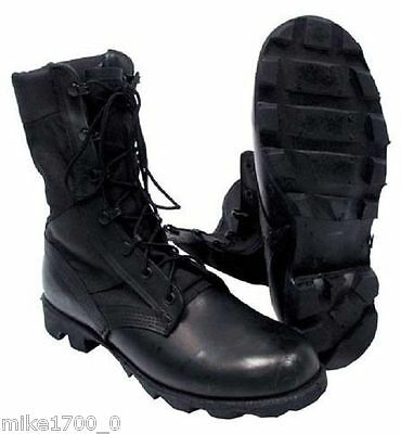 ORIGINAL WELCO USA ARMY SURPLUS JUNGLE COMBAT MILITARY BOOTS Size UK 9 + 8 Only