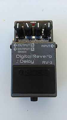 Boss Rv-3 Delay And Reverb - Free Next Day Delivery In The Uk