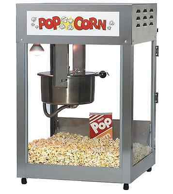 Commercial Popcorn Machine Industrial Movie Theater Gold Medal Hot Oil 12 14 oz