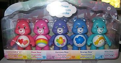 Care Bears 5 Articulated Figure Pack - New Sealed Pack