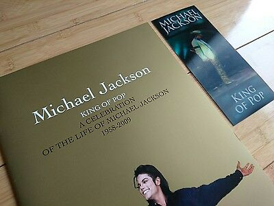 Michael Jackson This Is It Ticket & Memorial Programme Book O2 Arena 10/08/2009
