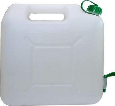 Plastic Garden Camping Caravan Water Carrier Fluid Jerry Can Container with Tap