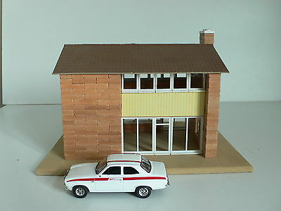 Brickplayer 0 Gauge 1/43 Scale Detached House Model / Layout Display