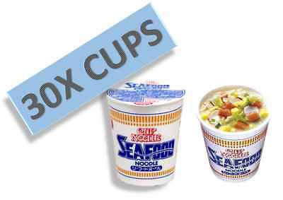 Japanese Nissin Cup Noodles Seafood Wholesale