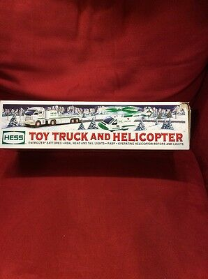 2006 Hess Toy Truck And Helicopter New In Box!!