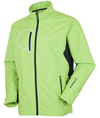 NEW SunIce Sport Collins Toxic Green/Midnight Long Sleeve Golf Jacket Mens Large