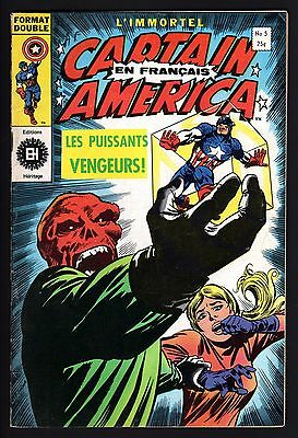 Capitaine America #5, Edition Heritage, French Canadian, Fine 6.0