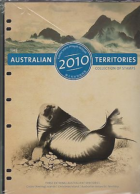 Australian Territories Year Collection of Stamps AAT Cocos Christmas Is 2010