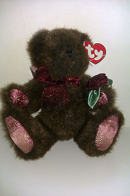 Ty beanie bear attic treasures collection,Martina, with swing tag ,2000.