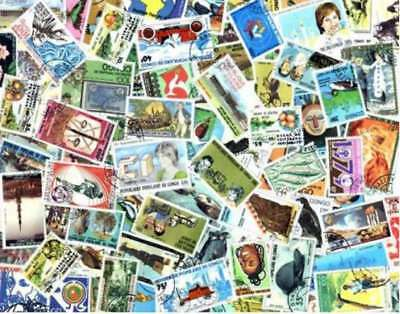 Congo Stamp Collection - 100 Different Stamps