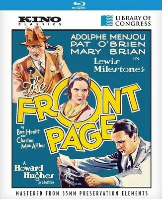 The Front Page (Remastered) [New Blu-ray]