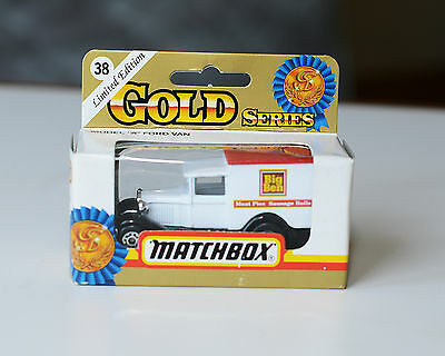 """Matchbox 38 1930 Model """"A"""" Ford, """"Big Ben Meat Pies"""" in Excellent Condition 1724"""