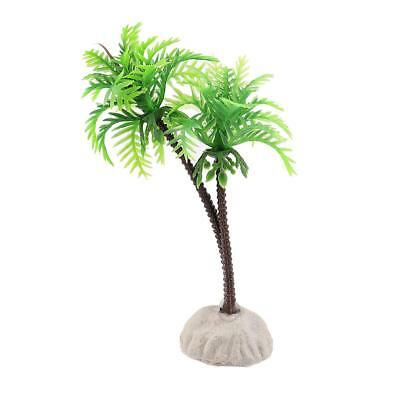 10cm Cocotier Plante Artificielle Decoration Pr Aquarium • EUR 2,09