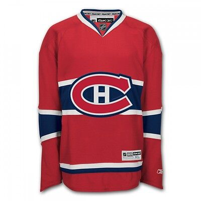 Reebok Premier Montreal Canadiens NHL Jersey / Shirt  - Blue / Home