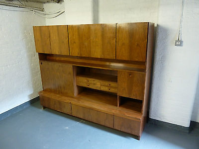 Robert Heritage Archie Shine Rosewood Wall Unit Bookcase Heals (20C399)