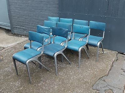 Midcentury Vintage Stacking Chairs by Esavian - James Leonard (20C958)