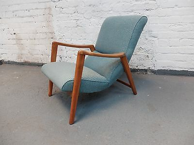 Vintage Midcentury E-Gomme G Plan Siesta Chair Model 411 by VB Wilkins (20C951)