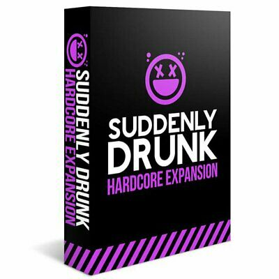Suddenly Drunk Hardcore Expansion Card Game