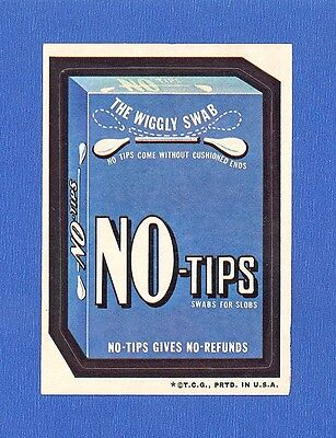 1973    Topps   Original   Wacky Packages  3rd Series  No - Tips  tan back
