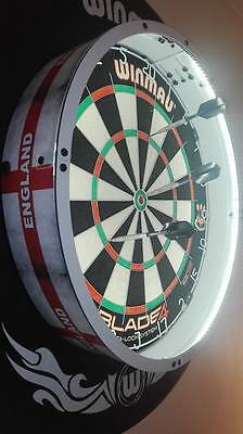 NEW FIT ALL BOARDS MAXLite360 DARTS LED LIGHT, LIGHTING SURROUND DARTBOARD MOUNT