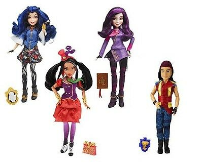 Disney Descendants Signature Mal - Evie - Jay - Freddie - Isle of The Lost Doll