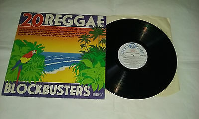 20 Reggae Blockbusters- Various Artists Trojan LP 1979