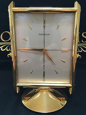 Jaeger LeCoultre  Solid Brass Mantel / Alarm Clock