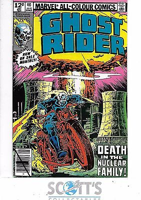 Ghost Rider  #40  NM-