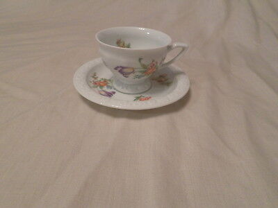 Classic Rose Collection Demitasse Cup & Saucer