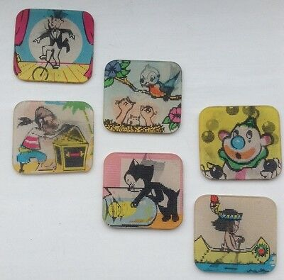 Collectable Vari-Vue Cartoon Flickers X Six By Mount Vernon - Collectable