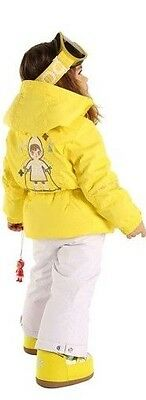 Poivre Blanc Girls Ski Jacket 5 years/110 cm  Yellow Brand New + Tags RRP £173