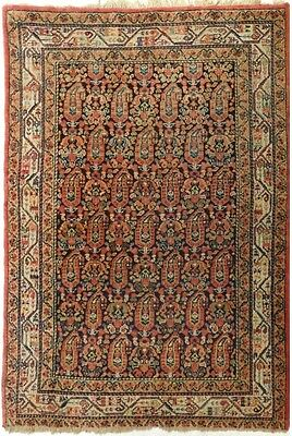 Rug #715 - Antique Persian Saraband Paisley-Boteh